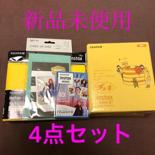 フジフイルム(富士フイルム)のチェキ 黄色 FUJI FILM INSTAX MINI 8 YELLOW(フィルムカメラ)