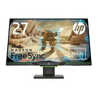 ヒューレットパッカード(HP)のHP x27i ゲーミングモニター 27インチ 2K  4ms 144hz(ディスプレイ)