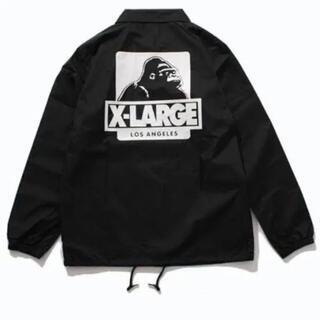エクストララージ(XLARGE)のX large コーチジャケット(ナイロンジャケット)