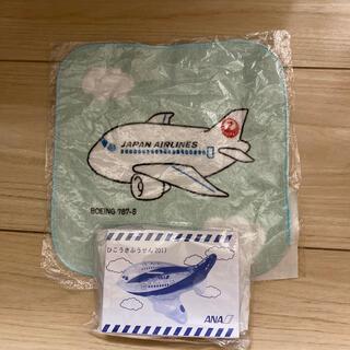 ジャル(ニホンコウクウ)(JAL(日本航空))のJAL タオル 風船(ハンカチ)