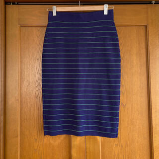 プラステ(PLST)のPLST プラステ ニットタイトスカート(ひざ丈スカート)