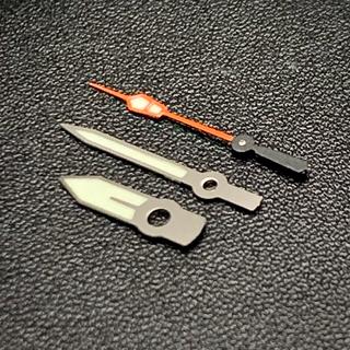 セイコー(SEIKO)のセイコー SEIKO 針 セット 社外 SBDC スキューバ オレンジ カスタム(腕時計(アナログ))