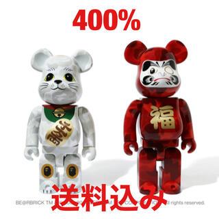 アベイシングエイプ(A BATHING APE)のBAPE ベアブリック 招き猫 & 達磨 400%(その他)