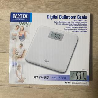タニタ(TANITA)の【未使用】タニタ 体重計 (デジタルヘルスメーター)(体重計)