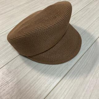 アースミュージックアンドエコロジー(earth music & ecology)の帽子(キャスケット)
