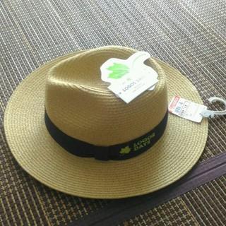 シマムラ(しまむら)の帽子 新品 しまむら(麦わら帽子/ストローハット)