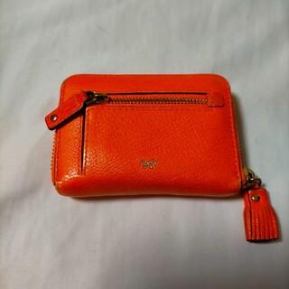 アニヤハインドマーチ(ANYA HINDMARCH)のアニヤハインドマーチ 財布 ウォレット オレンジ(財布)