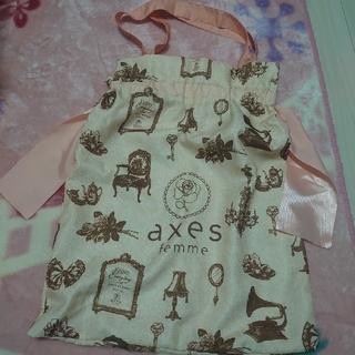 アクシーズファム(axes femme)のaxes femmeバック(ショップ袋)