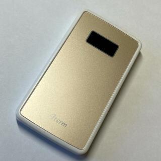 エヌイーシー(NEC)のモバイルルーター SIMフリー【NEC PA-MP02LN-CW】(PC周辺機器)