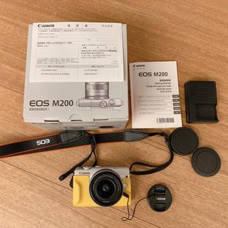 キヤノン(Canon)のCanon EOS M200 ホワイト(ミラーレス一眼)