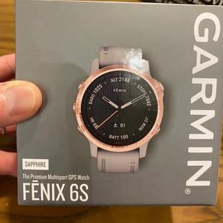 ガーミン(GARMIN)のgamin fēnix 6S Sapphire Gray RoseGold(腕時計(デジタル))