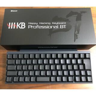フジツウ(富士通)のPFU HHKB Professional BT 日本語配列/黒(PC周辺機器)