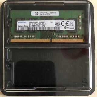 サムスン(SAMSUNG)の【中古】サムスン ノートPC用メモリ 4GBx1(ノートPC)