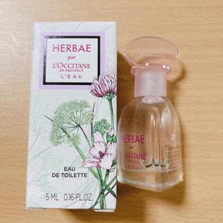 ロクシタン(L'OCCITANE)のロクシタン エルバブランシュ 香水 ミニ 5ml(香水(女性用))