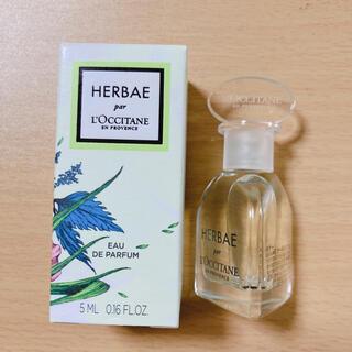 ロクシタン(L'OCCITANE)のロクシタン エルバヴェール オードパルファム 5ml ミニ 香水(香水(女性用))