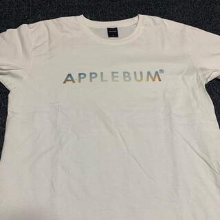 アップルバム(APPLEBUM)のAPPLEBUM Sunshine Logo T-Shirt ホワイト(Tシャツ/カットソー(半袖/袖なし))