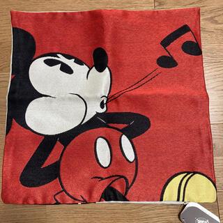 ディズニー(Disney)の【未使用】クッションカバー ミッキー(クッションカバー)