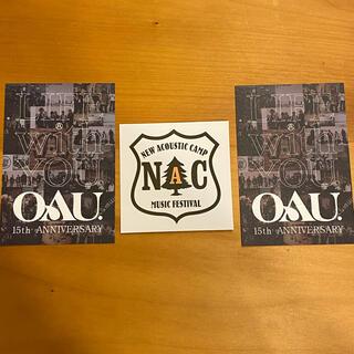 ニューアコ NAC ステッカー OAU ペーパー(音楽フェス)