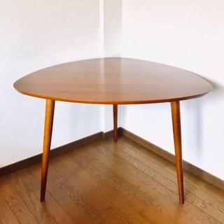 アクタス(ACTUS)の【さらゆりさま専用】NOCEノーチェダイニングテーブル リアルウォールナット(ダイニングテーブル)