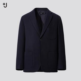 UNIQLO - ユニクロ +J プラスJ ウールブレンドオーバーサイズジャケット カシミア混