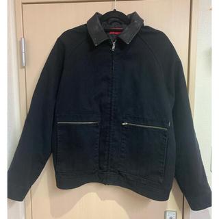 シュプリーム(Supreme)のSupreme leather collar work jacket(レザージャケット)