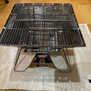 ロゴス(LOGOS)のWT様専用LOGOS ロゴス 焚き火台ピラミッド TAKIBI L おまけ付(ストーブ/コンロ)