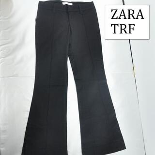 ザラ(ZARA)のZARA TRF レデイース ブラックパンツ(チノパン)