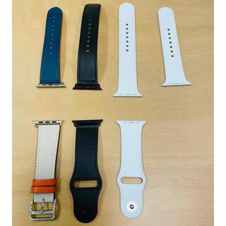 アップルウォッチ(Apple Watch)のApple Watch アップルウォッチ ベルト 44ミリ 3種類 セット(腕時計(デジタル))