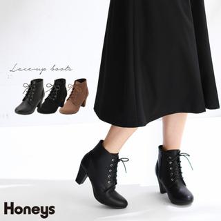 ハニーズ(HONEYS)のショートブーツ L【24.0】(ブーツ)