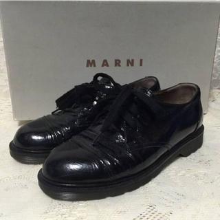 マルニ(Marni)のYUCOさん専用 マルニ エナメルシューズ(ローファー/革靴)