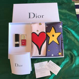 クリスチャンディオール(Christian Dior)のクリスチャンディオール 巾着、ルージュ、ネイル 非売品セット(ノベルティグッズ)