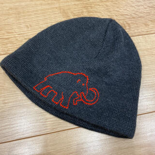 マムート(Mammut)のマムート ニットキャップ 刺繍ロゴ(ニット帽/ビーニー)