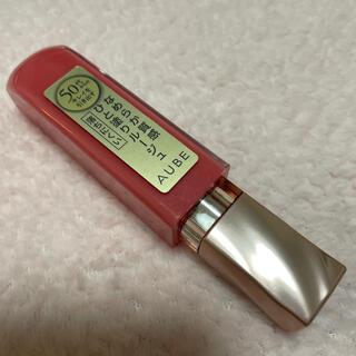 オーブ(AUBE)のオーブ  なめらか質感 ひと塗りルージュ PK-18 口紅 AUBE(口紅)