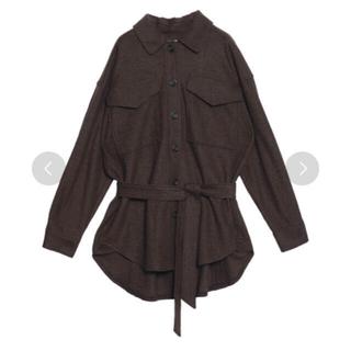 Ameri VINTAGE - 【新品タグ付き】Ameri VINTAGE ポケットオーバーサイズシャツ
