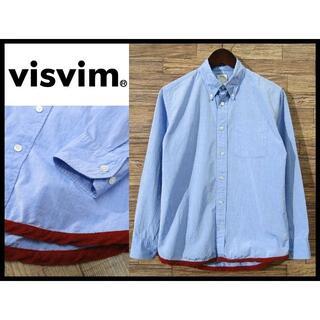 ヴィスヴィム(VISVIM)の美品 VISVIM ビズビム 11SS ギザコットン ボタンダウン シャツ S(シャツ)