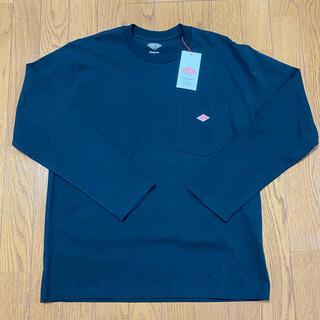 ダントン(DANTON)の新品 DANTON ポケット付ロンT size40 黒(Tシャツ/カットソー(七分/長袖))