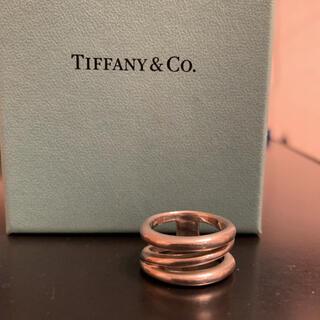 ティファニー(Tiffany & Co.)の美品★ティファニー ダイアゴナル リング(リング(指輪))