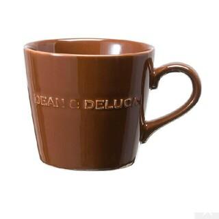 DEAN & DELUCA - DEAN&DELUCA ディーン&デルーカ モーニングマグ チョコレートブラウン