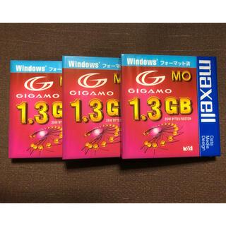 マクセル(maxell)のmaxell MO 3.5型 1.3GB 3枚(PC周辺機器)