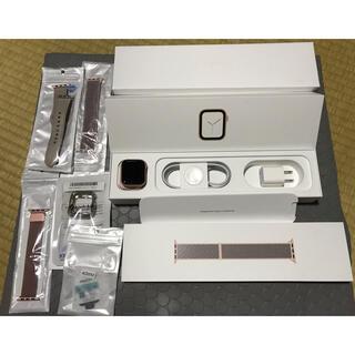 アップルウォッチ(Apple Watch)のApple watch series4 40mm GPS(腕時計(デジタル))