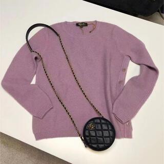 ロロピアーナ(LORO PIANA)のロロピアーナ シルク混カシミヤセーター 40(ニット/セーター)
