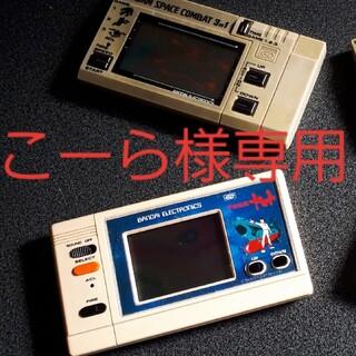 バンダイゲームウォッチばかり 機動戦士ガンダムスペースコンバット宇宙戦艦ヤマト (携帯用ゲーム機本体)
