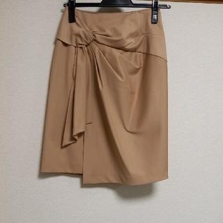 ジャスグリッティー(JUSGLITTY)の美品ジャスグリッティー☆デザインタイトスカート(ひざ丈スカート)