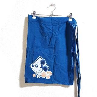 ディズニー(Disney)の【処分予定】ディズニー ミッキーマウス 和風腰エプロン(その他)
