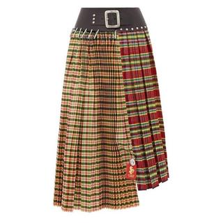コムデギャルソン(COMME des GARCONS)のchopova lowena プリーツ スカート(ひざ丈スカート)