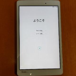 エルジーエレクトロニクス(LG Electronics)のqua tab px白 simロック解除済み(タブレット)