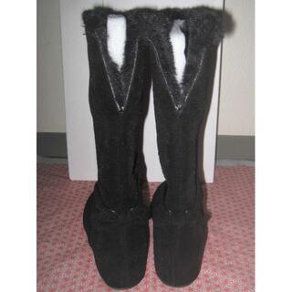 ギャラリービスコンティ(GALLERY VISCONTI)の新品ギャラリービスコンティのミドル丈ブーツ◇Lサイズ(ブーツ)