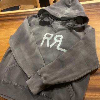 ダブルアールエル(RRL)のRRL(ダブルアールエル)パーカー  XL   ダークグレー(パーカー)