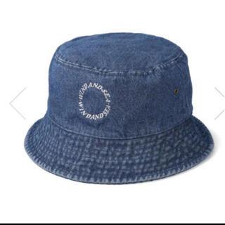 シー(SEA)のW&S (CIRCLE) DENIM BUCKET HAT / INDIGO(ハット)
