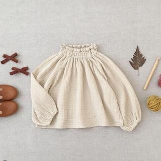 Caramel baby&child  - 限定お値下げ❗ Imelda Blouse, Milk soorploom